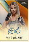 Paige VanZant Cards and Memorabilia Guide 18