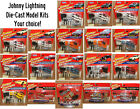 Johnny Lightning Die Cast Model Kits on Factory Blister Cards Your Choice
