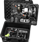 DJI FPV Drone Hard Case Waterproof Compatible With Googles V2 Fly More Combo