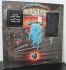 Boston LP Self Titled Epic 34188 Mostly SEALED Unplayed Hype Stickers