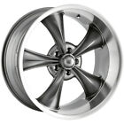 Staggered Ridler 695 Front18x8Rear18x95 5x475 +0mm Grey Wheels Rims