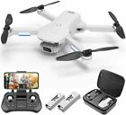 4DRC F8 Drone FPV HDR UHD Camera 5GHz wifi RC Brushless Quadcopter 2 Batteries