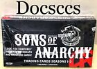 Sons Of Anarchy Cryptozoic Seasons 1-3 Trading Card Sealed 24 Pack Box Autograph