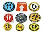 400 Signs  Huge Please keep Social Distance decals wholesale lot many signs