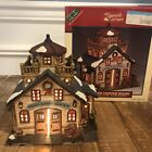 Lemax Plymouth Corners Seaside Shipping & Freight Lighted Village House 2001