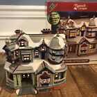 Lemax Village Plymouth Corners Victorian House #05492 With Box & Light EUC