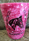 Seabiscuit LIMITED EDITION HORSE RACING SHOT GLASS ONLY 250 PRODUCED