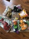 lot of 7 TY Mcdonalds Beanie babies Bones Inch Twigs Pinchers Doby Tigger Waddle
