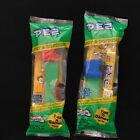 Pez D Series Semi Truck Lot of 2 Red/Blue Cab with Green Stem New in Cello