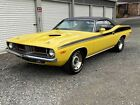 1973 Plymouth Cuda 1973 Plymouth Cuda Original Numbers Matching 340 V8 FY1 Yellow Must See!