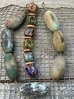 Old wooden  glass net floats PNW Wood Floats  Old Glass Decor Floats