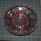 QVC Fenton Art Glass EMPRESS ROSE Opalescent Hobnail Candle Bowl Snack Dish