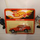 hot wheels blackwall Rare Ford Escort Red Pegasus Tampo mint on card1