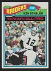 The Snake Enters the Hall of Fame! Top 10 Ken Stabler Football Cards 17