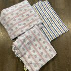 Lanz of Salzburg Flannel Fabric Misc Sizes Vintage New A Lot Of Fabric Soft