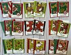 18 Cheery Christmas Holiday Winter greeting card collection decorated envelopes