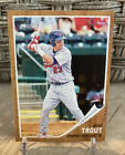2011 Topps Heritage Mike Trout SP Minors #44 Rookie, Razor Sharp Perfect Card