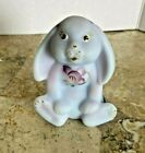 Fenton Blue Burmese Lop Earred Bunny NEW in BOX Matches Tumble Up