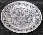 Antique Scarce Glass Cup Plate Heart + Stars LR 78 New England Glass Co
