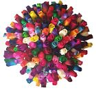 100 x Wooden Roses Dyed Closed Bud Rose Stems Many Colours Craft Wedding Bouquet