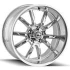 Staggered Ridler 650 Front20x85Rear20x10 5x127 5x5 +0mm Chrome Wheels Rims