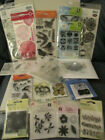 Lot 15+ New packages never used stamps stamping art card making craft NIP Spring