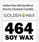 GW 464 Soy Wax Flakes 20 lb Candle Making Supplies Free Shipping