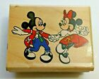 RUBBER STAMPEDE Disney AT THE HOP Dance MICKEY MINNIE  MICKEY MOUSE Stamp