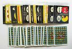 1980 Fleer Pac Man 39 Different NM MT Stickers 18 Scratch Off Cards Near Set
