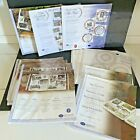 Creative Memories Refill Pages + Protectors Old Style 12x12 White + Extras Lot