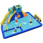 Bountech Inflatable Water Slide Bounce House Climbing Wall without Blower