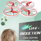 4 Channels Flying Induction Drone Gravity Defying Hand Controlled Four Wheeled