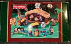 Fisher Price Little People Christmas Story Light Up Nativity Scene Collectable