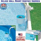 Deluxe Wall Mount Surface Skimmer Wall Mount Basket Above Ground Pumps BRAND NEW