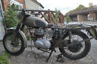 MILITARY TRIUMPH 350 T35 3TA UK REGISTERED V5C BARN FIND SPARES REPAIR PROJECT