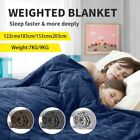 Glass Beads 100 Cotton Soft Breathable Weighted Heavy Blanket for Bed Sofa