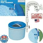 Intex Swimming Pool Deluxe Surface Skimmer Wall Mount Basket Above Ground Pumps