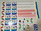 New Lot MRS GROSSMANS Stickers Animals Fans Design lines pool swimming