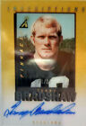 Terry Bradshaw Acetate Panini Pinnacle Inscriptions On Card Autograph 24 of 25.