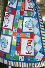 CAT IN THE HAT FUN Panel Quilt Kit DR SEUSS Kaufman PASTRY SHOP QUILTS Baby