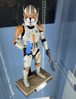 Hot Toys Star Wars: Revenge of the Sith Commander Cody 1 6 Figure Complete W Box