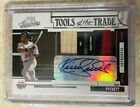 2005 Absolute KIRBY PUCKETT TOTT Autograph TRUE 1 1 Jersey Prime Patch 🔥 AUTO
