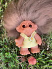 Dam O Mouth Playmate Whistle Troll Replaced Hair Glass Eyes Denmark