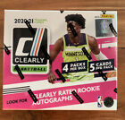 2020-21 Clearly Donruss Basketball Hobby Box 🔥🔥🔥 Factory Sealed