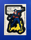 1975 Topps Comic Book Heroes Stickers 22