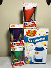 Jelly Belly Electric Ice Shaver w 6 Cone Cups  Holders Jb15317 NEW