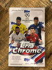 2020 21 Topps UCL UEFA Champions League Topps Chrome Soccer Box Sealed Musiala!!