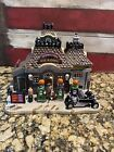 Retired 2011 LEMAX Halloween Village GAS 'N GHOUL  SPOOKY TOWN Hard To Find