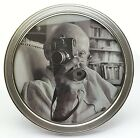 Antique Circular Picture Frame With 925 Silver Rim