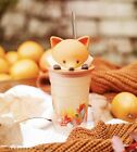 New Starbucks 2021 China Autumn Maple Leaves And Cute Fox 12oz Glass Cup